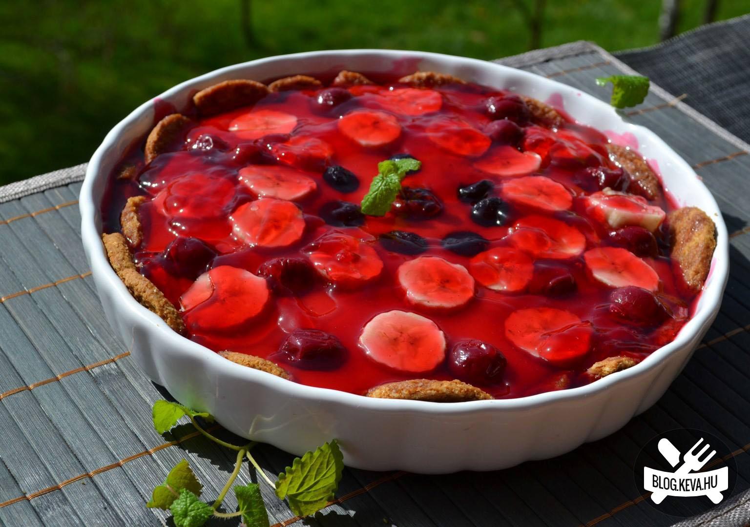 Sütés nélküli gyümölcstorta - Keva Blog